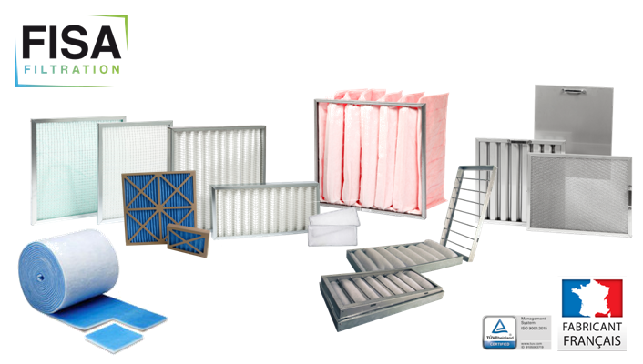 GAMME FILTRES FABRICATION FISA FILTRATION